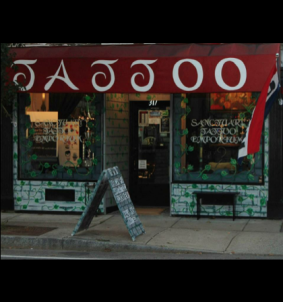 Tattoo Shop Entrance 420 x 448